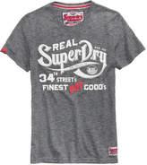 Superdry Men's NYC Finest Logo-Print T-Shirt