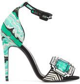 Pierre Hardy 'Mega Gem' sandals - women - Leather - 36