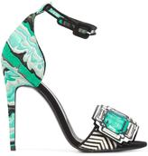 Pierre Hardy 'Mega Gem' sandals - women - Leather - 38