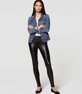 LOFT Bi-Stretch Faux Leather Leggings