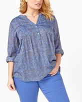 Penningtons d/c JEANS Long Sleeve Printed Blouse