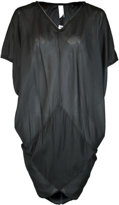 Format TENT Black Silk Ponge Dress - XS-S - Black