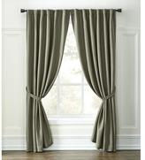 Whole Home 2-Pack 'Jackie' Faux-Silk Blackout Duo-Top Panels - Curtain