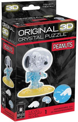 University Games 3D Crystal Puzzle - Peanuts Astronaut Snoopy 35-Pieces