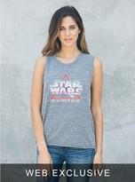 Junk Food Clothing Star Wars Raglan Tank-steel-l