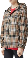 Burberry Everton Vintage Check Hooded Rain Jacket