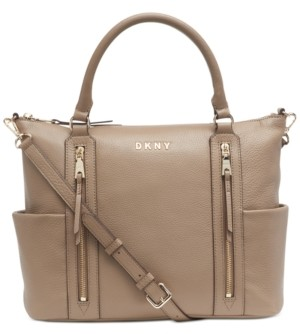 DKNY Tappen Leather Satchel, Created for Macy's