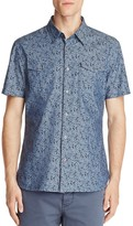John Varvatos Floral Print Slim Fit Button-Down Shirt - 100% Exclusive