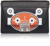 Prada City Calf and Saffiano Bag with Robot