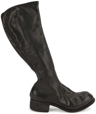 Guidi PL3 zipped knee length boots