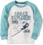 Carter's Graphic-Print Raglan Cotton Shirt, Toddler Boys (2T-5T)