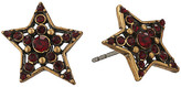 Marc Jacobs Charms Pave Star Studs Earrings