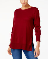 Style&Co. Style & Co Crew-Neck Sweater, Created for Macy's