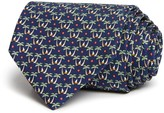 Salvatore Ferragamo Palm Tree Isle Classic Tie