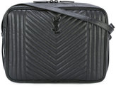 Saint Laurent quilted shoulder bag - men - Calf Leather - One Size