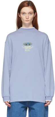 Eytys Blue Compton T-Shirt