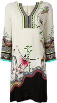 Etro printed tunic dress - women - Silk - 42
