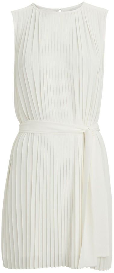 Intermix Tilly Pleated Mini Dress