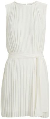 Intermix Tilly Pleated Mini Dress
