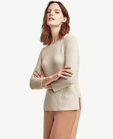 Ann Taylor Petite Boatneck Summer Sweater