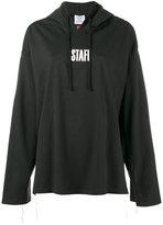 Vetements staff print hoodie