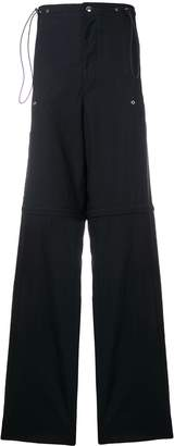 Lanvin High Waisted Cargo Trousers