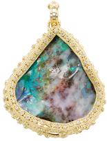 Armenta Sueno 18K Gold, Boulder Opal & 0.45 Total Ct. Diamond Free-Form Enhancer