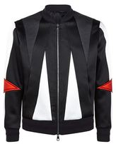 Neil Barrett Abstract Bomber Jacket