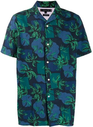 Tommy Hilfiger short sleeved tropical shirt