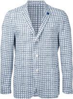 Lardini checked blazer - men - Cotton - 44
