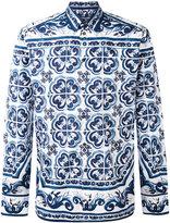 Dolce & Gabbana paisley printed shirt