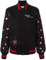 Opening Ceremony varsity bomber jacket - women - Polyester/Viscose/Wool - S