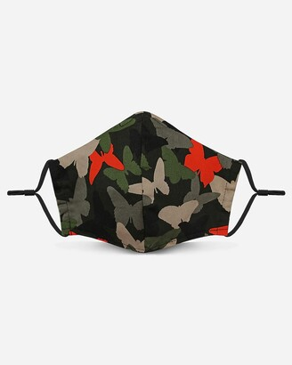 Express Pocket Square Clothing Butterfly Camo Unity Face Mask