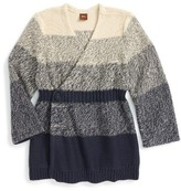 Tea Collection Girl's Ohara Wrap Cardigan