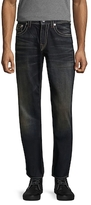 True Religion Flap Straight Fit Jeans