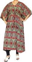 Maple Clothing Printed Womens Caftan Loungewear