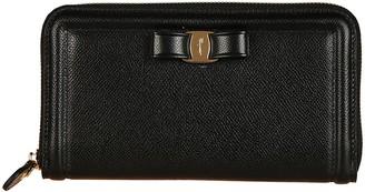 Salvatore Ferragamo Classic Zip Around Wallet