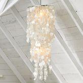 Long Hanging Capiz Pendant Lamp