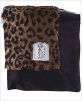 Little Giraffe Luxe Leopard Blanky