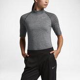 Nike Merino Wool Mock Women's Golf Top