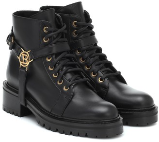 Balmain Ranger leather ankle boots