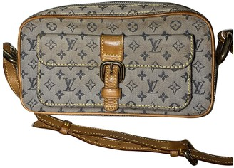 Louis Vuitton Christie Khaki Denim - Jeans Clutch bags