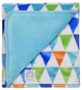 Boppy Reversible Plush Blanket - Turquoise Tint