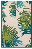 Couristan Jungle Leaves Indoor/outdoor Rug