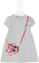 Little Marc Jacobs bag print dress - kids - Cotton/Viscose/Spandex/Elastane - 6 mth
