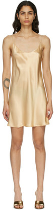 La Perla Beige Slip Dress