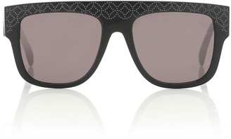 Alaia Engraved square sunglasses
