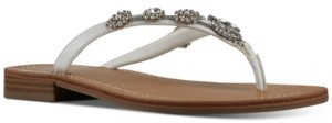 Nine West Women's X Neil Lane Perfect Flat Thong Sandals Women's Shoes