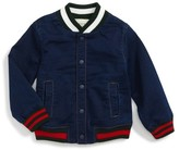 Gucci Infant Boy's Chambray Bomber Jacket