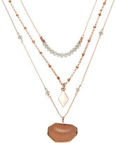 Vince Camuto Rose Gold-Tone Multi Strand Necklace